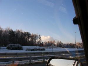 Snowy North Carolina