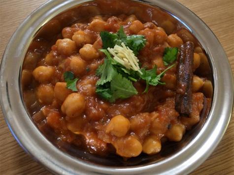 Crock Pot Chickpea Curry