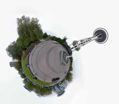 Tiny World, Space Needle, Seattle, WA