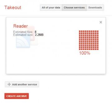 Google Reader Export 2